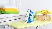 Bügeleisen Test 2017: Faltenfreie Wäsche