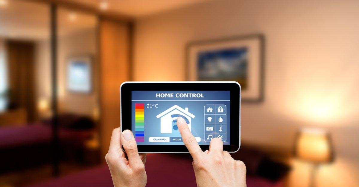 lichtschalter per wlan am smartphone steuern giga. Black Bedroom Furniture Sets. Home Design Ideas