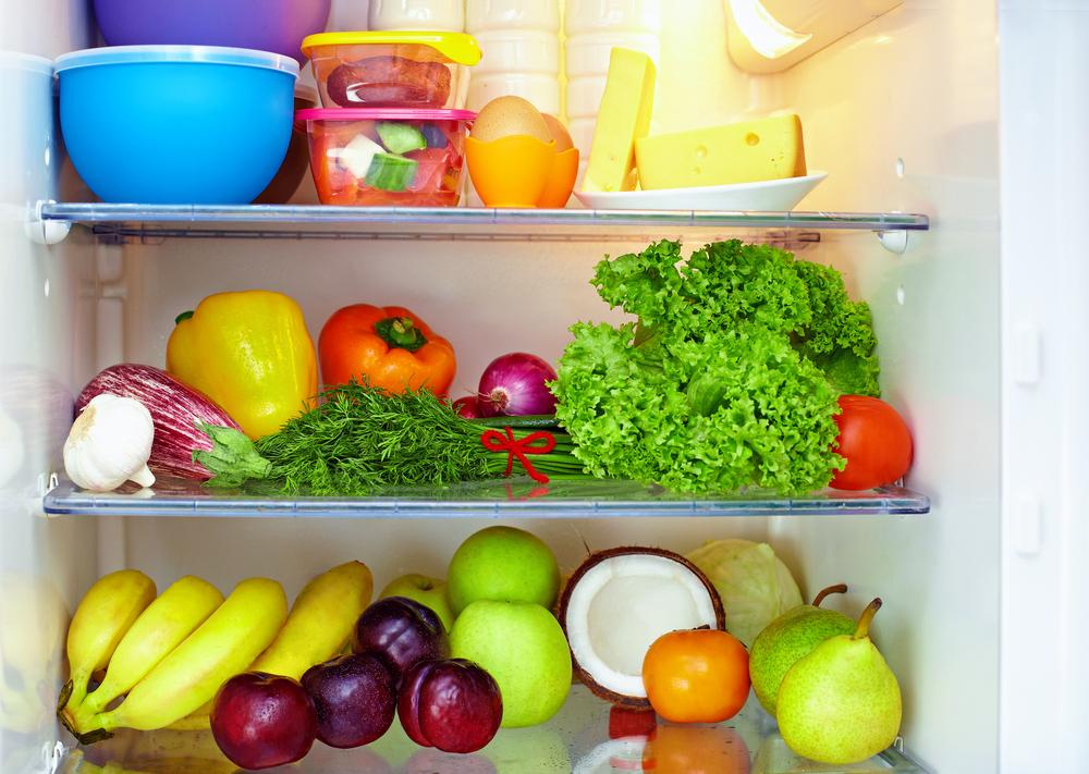 Berühmt Kühlschrank richtig einräumen: Ordnung nach System VO75
