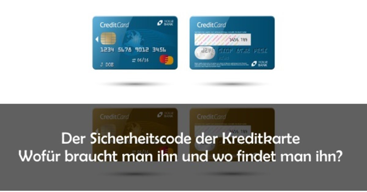 Visa Karte Sicherheitsnummer
