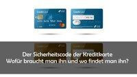 Sicherheitscode der Kreditkarte angeben