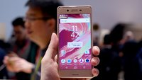Sony Xperia X Performance: High-End-Modell im Hands-On-Video