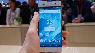 Sony Xperia XA: Hands-On-Video des Mittelklasse-Smartphones mit beinahe randlosem Display