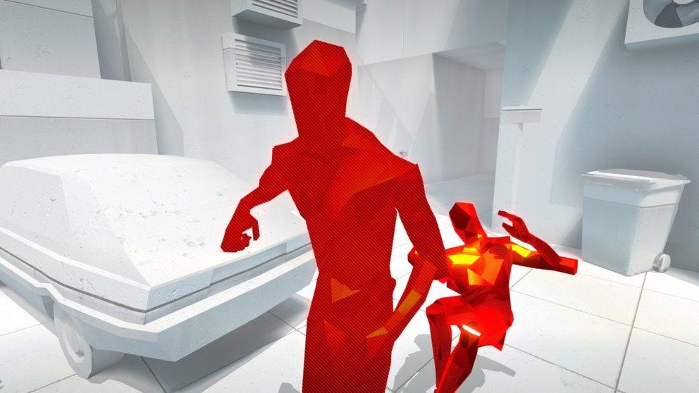 SUPERHOT: Manche Feinde versuchen auch auf euch zu zu rennen, um im Nahkampf anzugreifen.