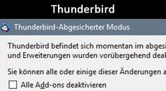 Thunderbird: Abgesicherter Modus starten – So geht's