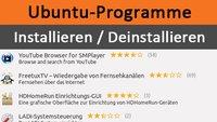 Ubuntu: Programme installieren und deinstallieren – Anleitung