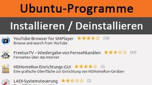 Programme Deinstallieren Ubuntu