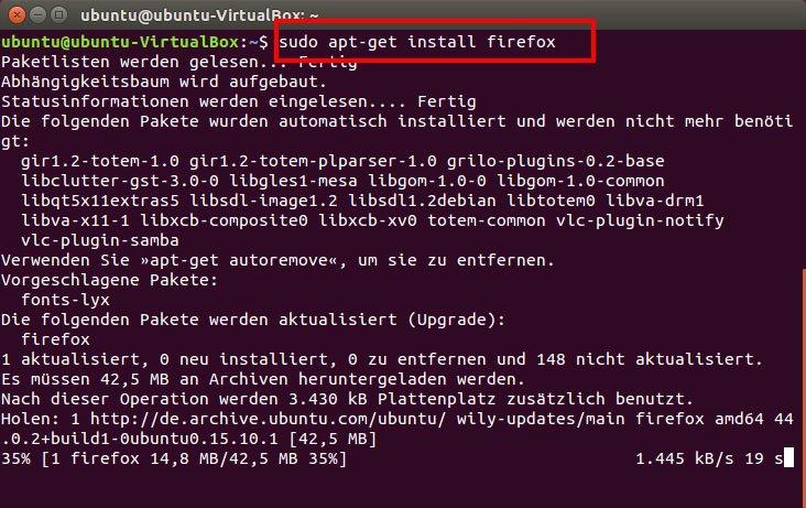 Ubuntu Programme Deinstallieren