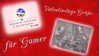 Valentinstagskarten für Gamer: Macht euren Mitspielern (und Gegnern!) eine Freude