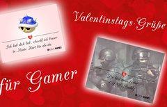 Valentinstagskarten für Gamer...