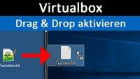 Virtualbox: Drag and Drop aktivieren – so geht's