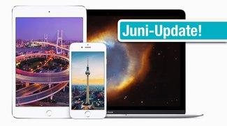 Wallpaper zum Download für iPhone, iPad und Mac: Neue Retina-Motive
