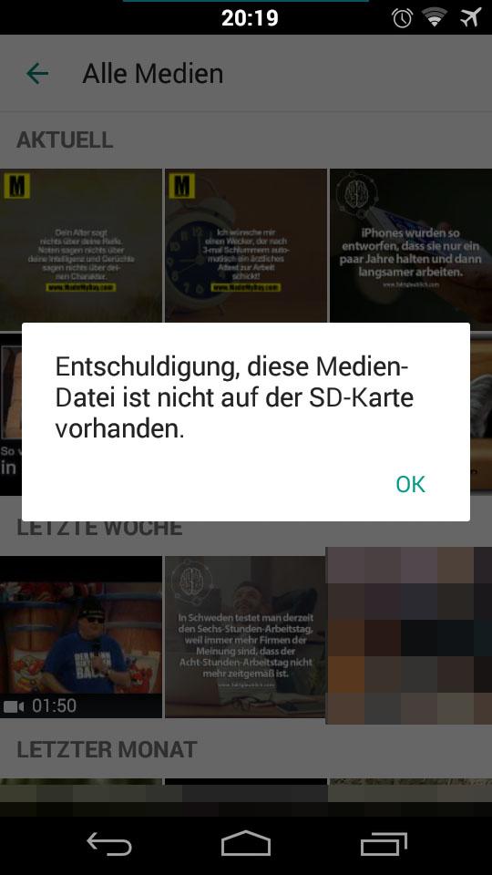 Whatsapp Auf Sd Karte.Whatsapp Chat Alle Geposteten Bilder Und Videos Auf Einmal