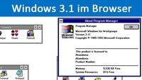 Windows 3.1 im Browser nutzen – So geht's