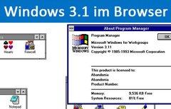 Windows 3.1 im Browser nutzen...