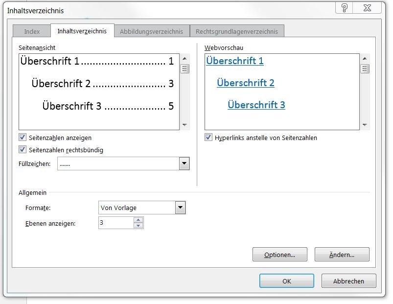 Word 2011 inhaltsverzeichnis protokoll chemie redoxreaktion