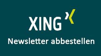 XING-Newsletter abbestellen – So klappt's