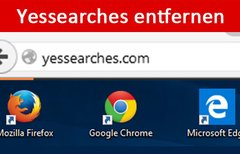 Yessearches entfernen –...