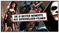 Superhelden-Landung:Die 15 absolut besten Momente aus 30 Jahren Superhelden-Film