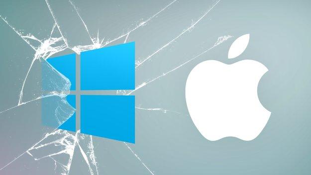 Mac als Locky-freie Zone: Bei Windows ist die Hölle los