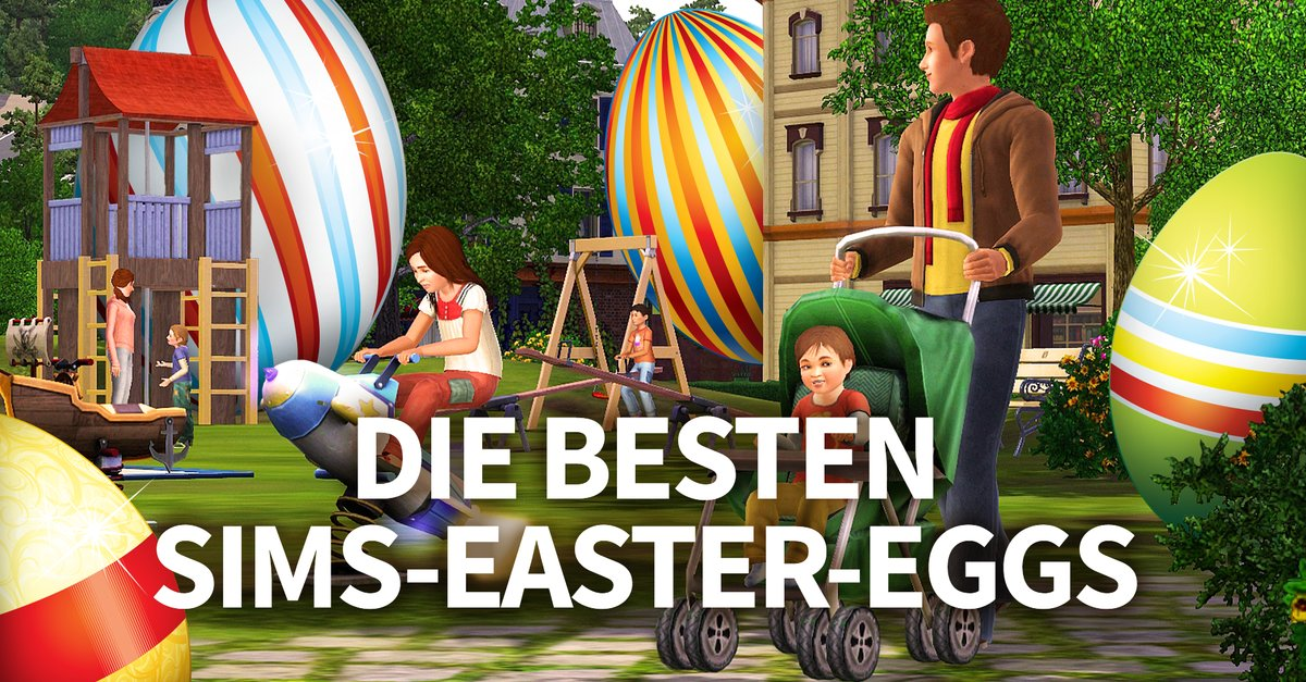 die sims die 18 besten easter eggs des spiele klassikers. Black Bedroom Furniture Sets. Home Design Ideas