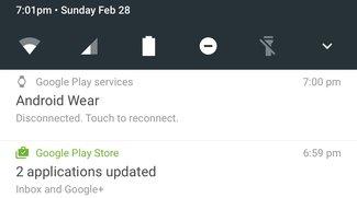 Android N: Benachrichtigungen und Quick Settings mit überarbeitetem Design
