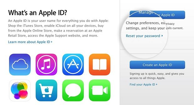 Apple Account Deaktiviert