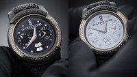Samsung Gear S2: Mit Gold und Diamanten zum Smartwatch-Schmuckstück