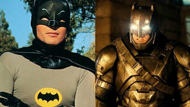 Batman V Superman: Die Evolution von Batman im Kino und im TV (Video)