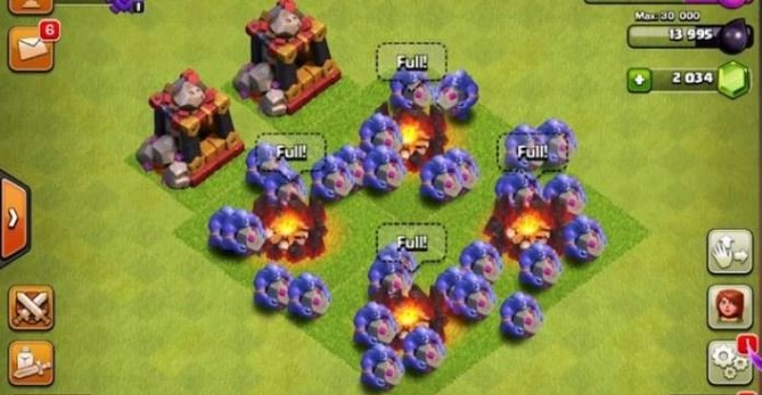 Bowler Angriff Clash of Clans