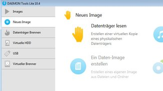 Daemon Tools Portable - Images für unterwegs