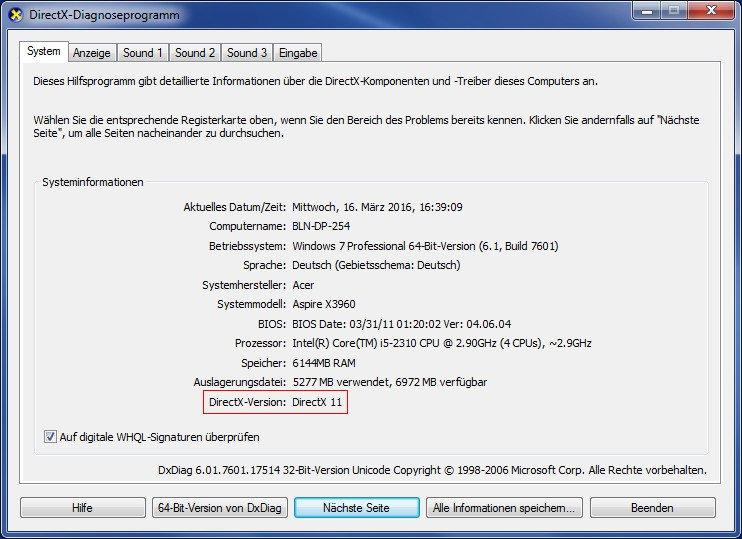directx 12 windows 8.1 64