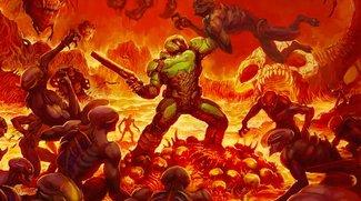 Doom: So sieht das Wendecover der Retail-Version aus