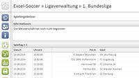 Excel-Soccer Ligaverwaltung 1. Bundesliga Download