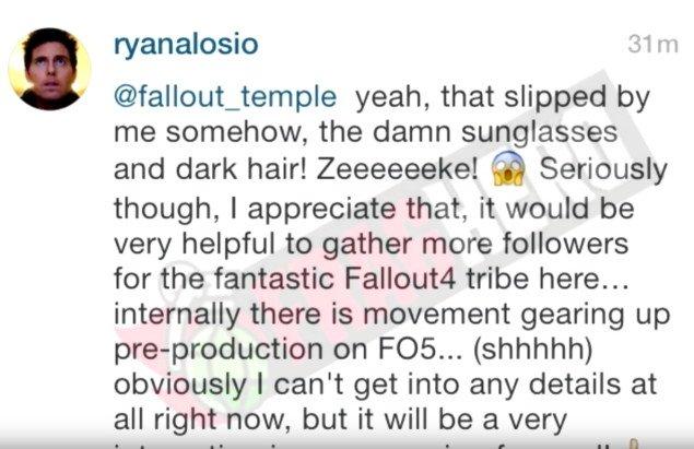 Fallout 5 Vorproduktion