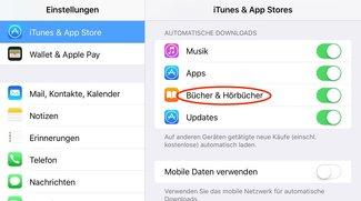 Apple erlaubt erneuten und automatischen Hörbuch-Download in iTunes