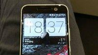 HTC 10 eingeschaltet: So sieht das neue Sense aus