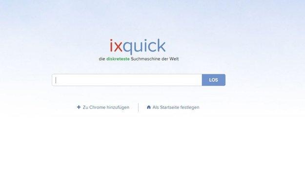 Ixquick installieren: So fügt ihr die anonyme Suchmaschine in eurem Browser zu