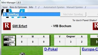 Mini-Manager (Fußball-Manager) Download