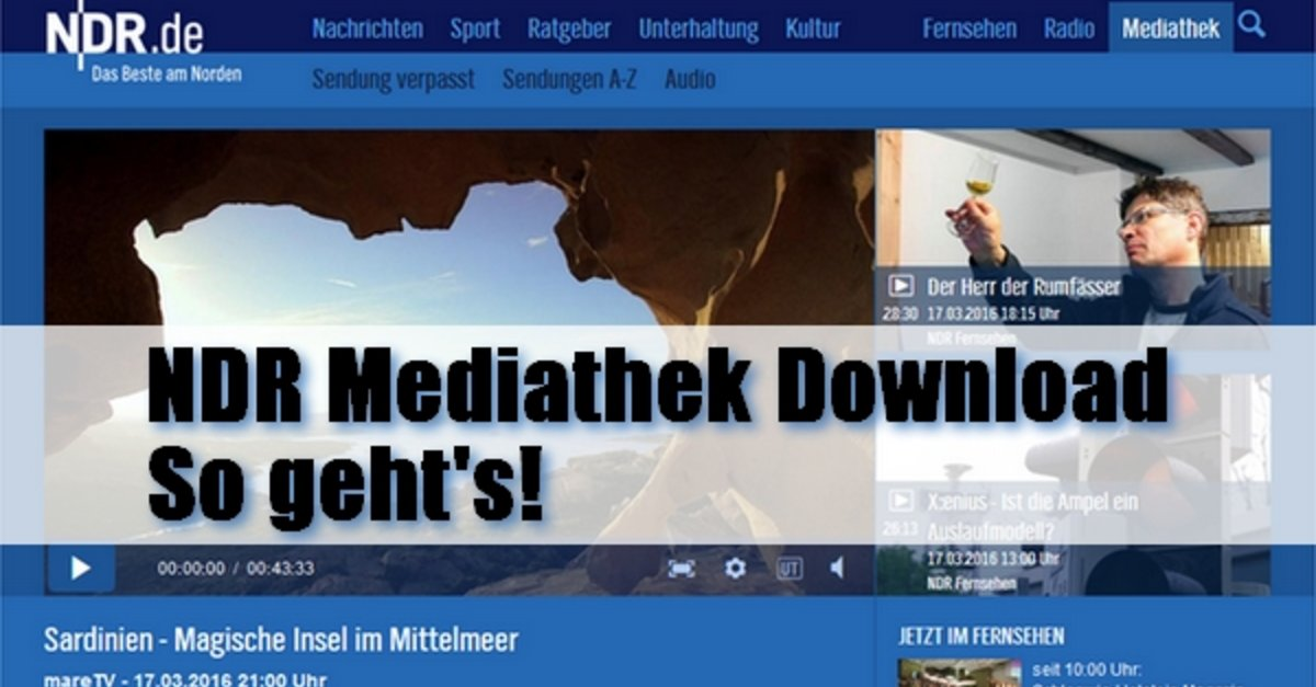 Ndr Mediathek Download So Gehts