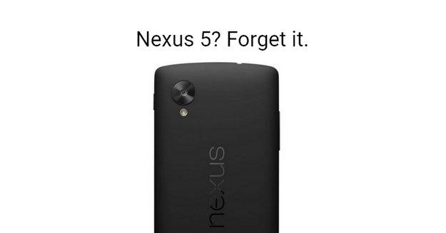 Keine falsche Hoffnung: Das Nexus 5 wird kein Android N bekommen