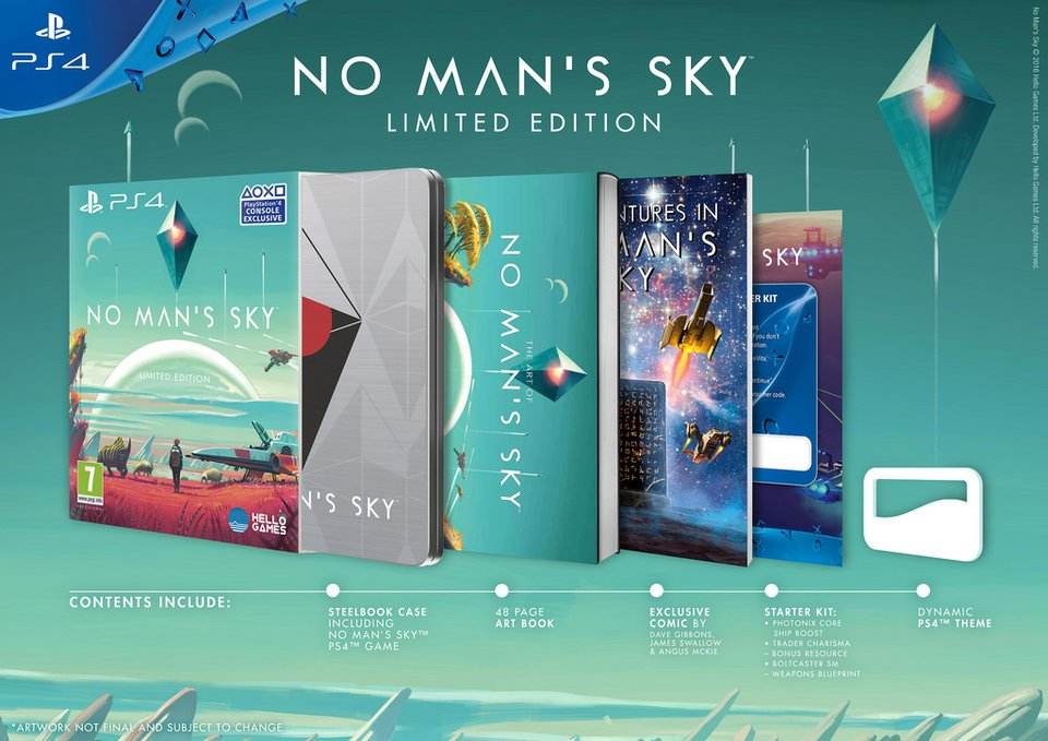 No Mans Sky Limited Edition