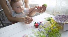 Ostereier färben – so wird's gemacht: Techniken, Muster, Tricks