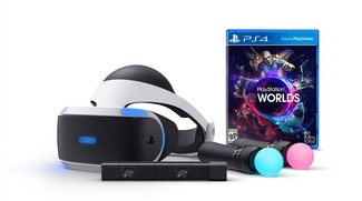 PlayStation VR: Launch-Bundle mit Kamera und Move-Controllern
