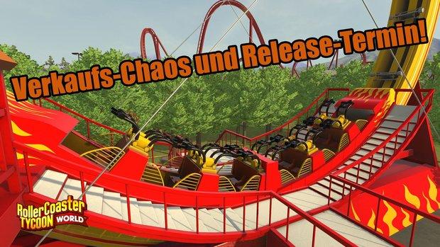RollerCoaster Tycoon World: Händler verkaufen unfertiges Spiel
