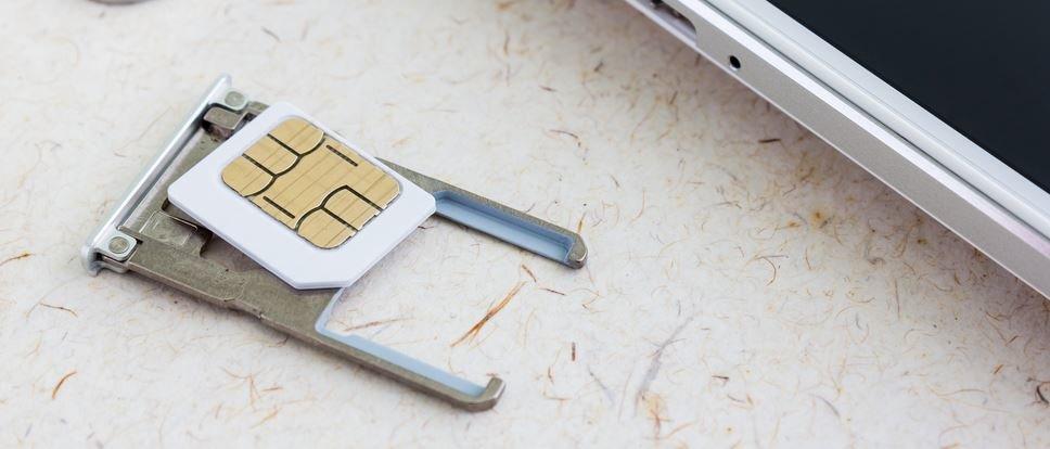 SIM Karte reinigen