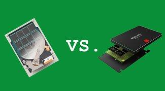 SSD vs. SSHD: Unterschied zwischen Hybrid- und Solid State Festplatten