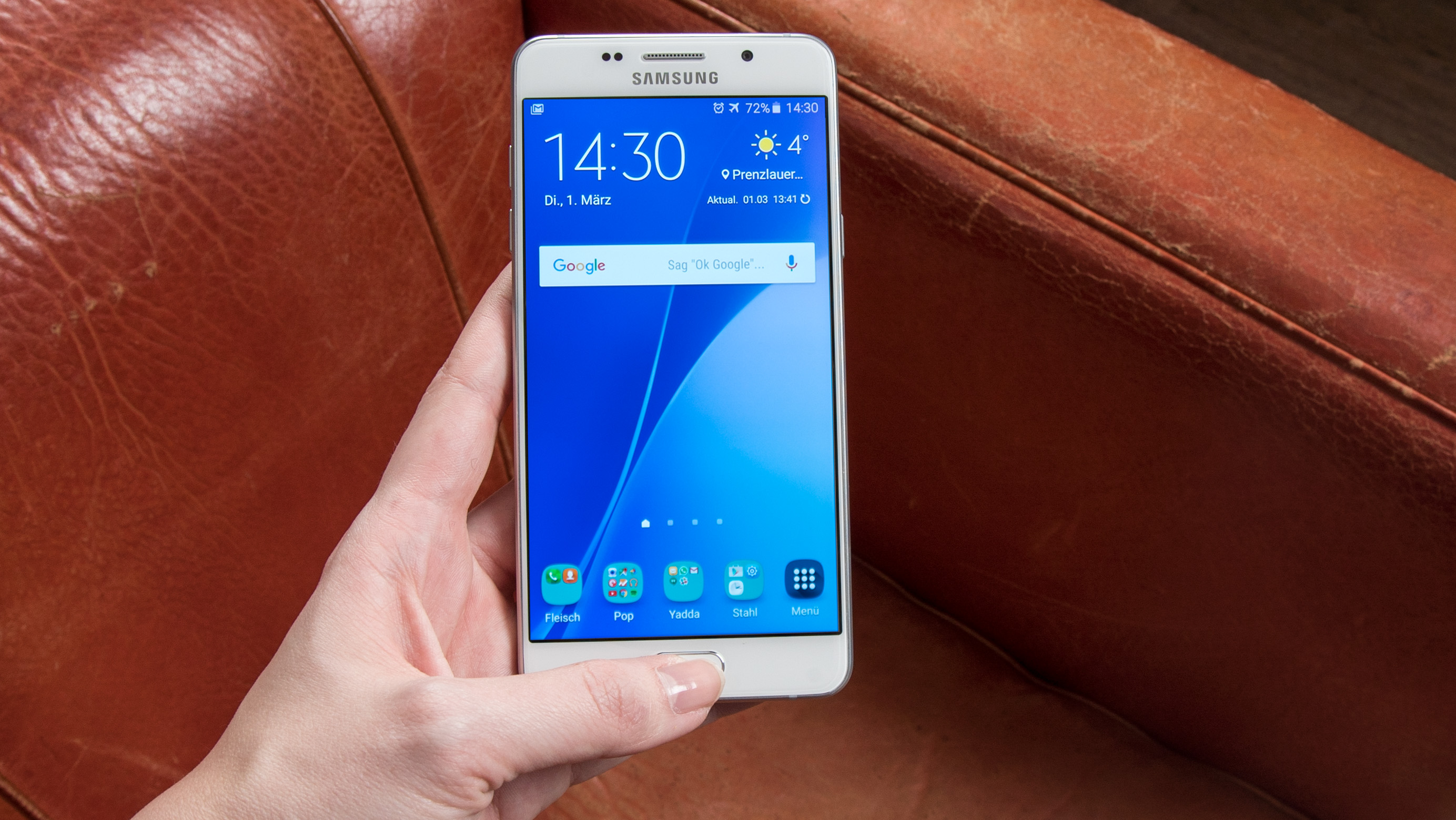Samsung Galaxy A5 (2016) in the Test