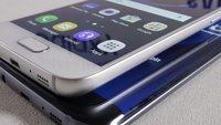 Samsung Galaxy S7 mit versteckter DPI-Einstellung