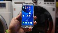 Samsung Galaxy S7: Überlebt das Flaggschiff in der Waschmaschine?
